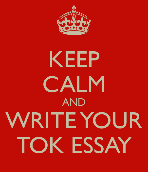 word limit tok essay