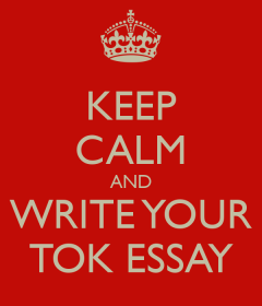 tok essay lja theory of knowledge